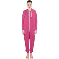 Rosey Day Hooded Jumpsuit (Ladies)