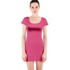Rosey Day Short Sleeve Bodycon Dress