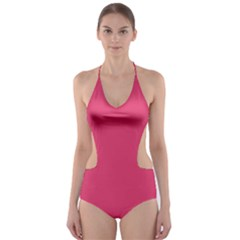 Rosey Day Cut-Out One Piece Swimsuit