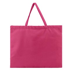 Rosey Day Zipper Large Tote Bag