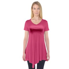 Rosey Day Short Sleeve Tunic