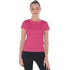 Rosey Day Short Sleeve Sports Top