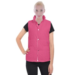 Rosey Day Women s Button Up Puffer Vest