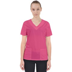 Rosey Day Scrub Top