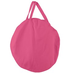 Rosey Day Giant Round Zipper Tote