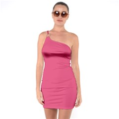 Rosey Day One Soulder Bodycon Dress