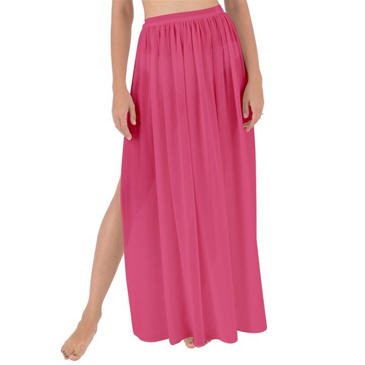 Rosey Day Maxi Chiffon Tie-Up Sarong