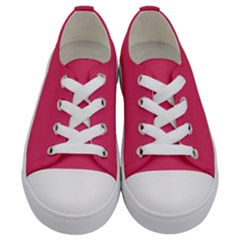 Rosey Day Kids  Low Top Canvas Sneakers