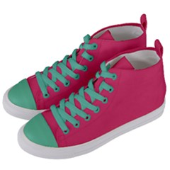 Rosey Day Women s Mid-Top Canvas Sneakers