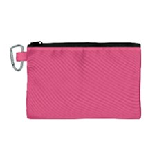 Rosey Day Canvas Cosmetic Bag (Medium)