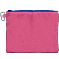 Rosey Day Canvas Cosmetic Bag (XXXL)