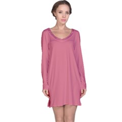 Rosey Long Sleeve Nightdress by snowwhitegirl