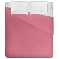 Rosey Duvet Cover Double Side (california King Size) by snowwhitegirl