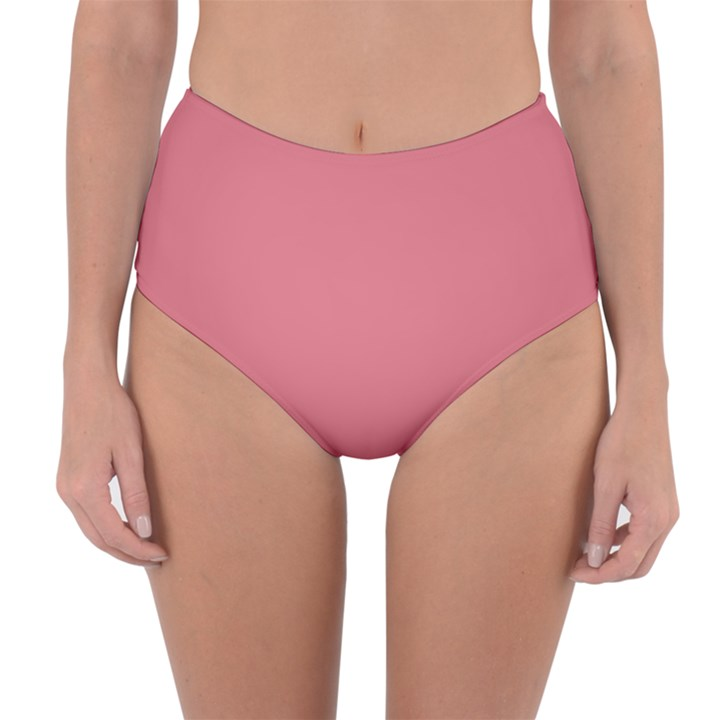 Rosey Reversible High-Waist Bikini Bottoms