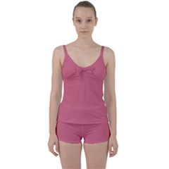 Rosey Tie Front Two Piece Tankini