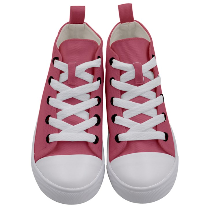 Rosey Kid s Mid-Top Canvas Sneakers