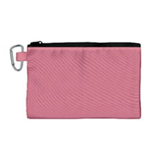 Rosey Canvas Cosmetic Bag (medium)