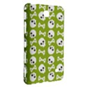 Skull Bone Mask Face White Green Samsung Galaxy Tab 4 (8 ) Hardshell Case  View3