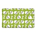 Skull Bone Mask Face White Green Samsung Galaxy Tab S (8.4 ) Hardshell Case  View1