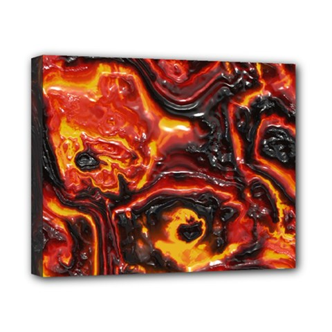 Lava Active Volcano Nature Canvas 10  X 8  by Alisyart
