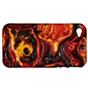 Lava Active Volcano Nature Apple iPhone 4/4S Hardshell Case (PC+Silicone) View1