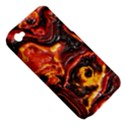 Lava Active Volcano Nature Apple iPhone 4/4S Hardshell Case (PC+Silicone) View5