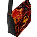 Lava Active Volcano Nature Flap Messenger Bag (L)  View2
