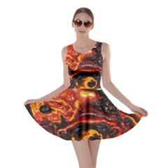 Lava Active Volcano Nature Skater Dress by Alisyart