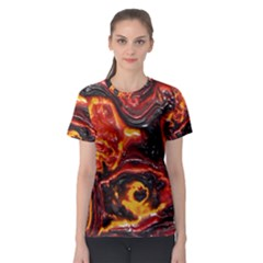 Lava Active Volcano Nature Women s Sport Mesh Tee by Alisyart