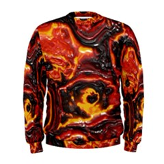 Lava Active Volcano Nature Men s Sweatshirt by Alisyart
