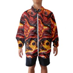 Lava Active Volcano Nature Wind Breaker (kids)