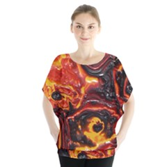 Lava Active Volcano Nature Blouse by Alisyart