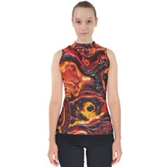 Lava Active Volcano Nature Shell Top