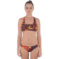 Lava Active Volcano Nature Cross Back Hipster Bikini Set by Alisyart
