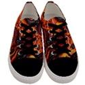 Lava Active Volcano Nature Men s Low Top Canvas Sneakers View1