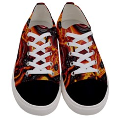 Lava Active Volcano Nature Women s Low Top Canvas Sneakers