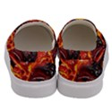 Lava Active Volcano Nature Men s Canvas Slip Ons View4