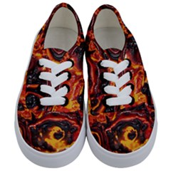 Lava Active Volcano Nature Kids  Classic Low Top Sneakers