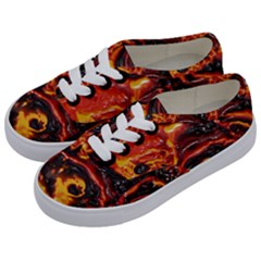 Lava Active Volcano Nature Kids  Classic Low Top Sneakers by Alisyart