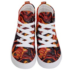 Lava Active Volcano Nature Kid s Hi Top Skate Sneakers