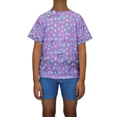 Little Face Kids  Short Sleeve Swimwear