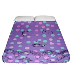 Little Face Fitted Sheet (Queen Size)