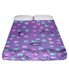 Little Face Fitted Sheet (King Size)
