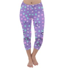 Little Face Capri Winter Leggings