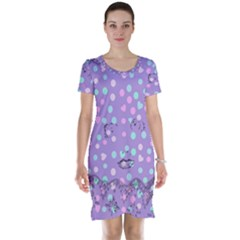 Little Face Short Sleeve Nightdress