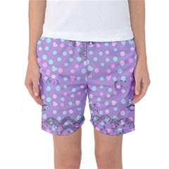 Little Face Women s Basketball Shorts