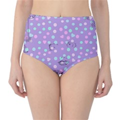 Little Face High-Waist Bikini Bottoms