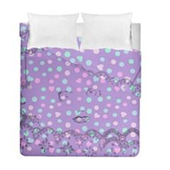 Little Face Duvet Cover Double Side (Full/ Double Size)