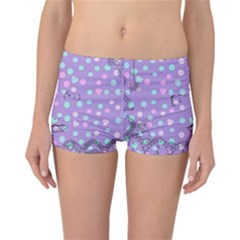 Little Face Reversible Boyleg Bikini Bottoms