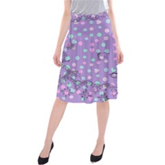 Little Face Midi Beach Skirt